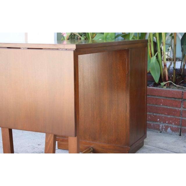 Edward Wormley Drop Leaf Desk For Sale - Image 12 of 13