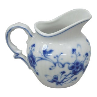 Porcelain Victoria Blue 7050 Mini Creamer by Sigma For Sale