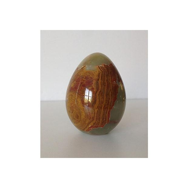 Onyx Large Egg-Shaped Paperweight or Accent - Image 4 of 5