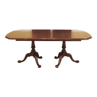Henkel Harris Figural Mahogany Dining Room Table