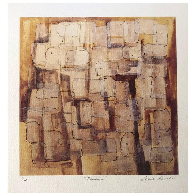 """Abstract """"Tension"""" Archival Print by Louis Shields For Sale"""