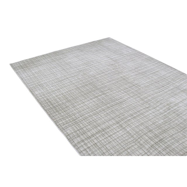 Gray Contemporary Rug - 3' x 10' - Image 2 of 4
