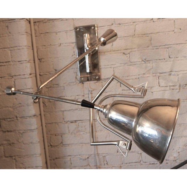 1920s 1920's Wall Lamp by Edouard Buquet For Sale - Image 5 of 7