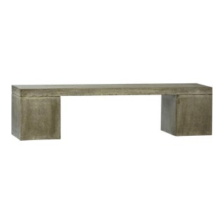 Outdoor Cement Resin Block bench For Sale