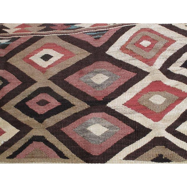 Early 20th Century Antique Bowlan Kilim For Sale - Image 5 of 6