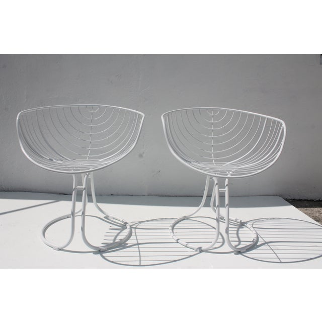 "Italian ""Pan Am"" Logo Chairs - A Pair - Image 2 of 11"