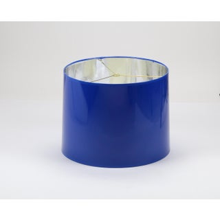 High Gloss Cobalt Blue Tapered Lampshade Preview