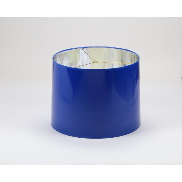 Made To Order: 1-2 week lead time Individually hand-made Exterior Color: Cobalt Blue (RAL 5010) Interior Color: Silver...