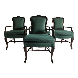 Vintage French Style Arm Chairs S-4 V Good For Sale