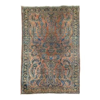 Antique Persian Sarouk Rug, 3'3' 'X 4'9''