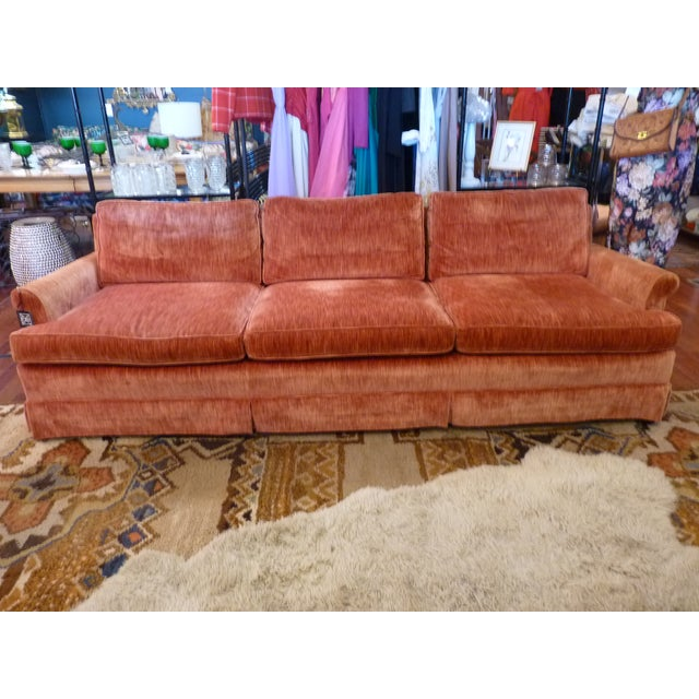 This is a wonderfully comfortable and stylish sofa! Just look at that amazing color that is somewhere between pink and...
