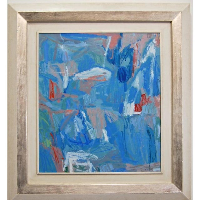 Abstract Contemporary Calamassi Alessandro Italian Painting For Sale In West Palm - Image 6 of 6