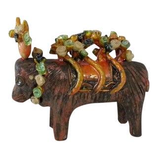 Italian Bull Sculpture For Sale