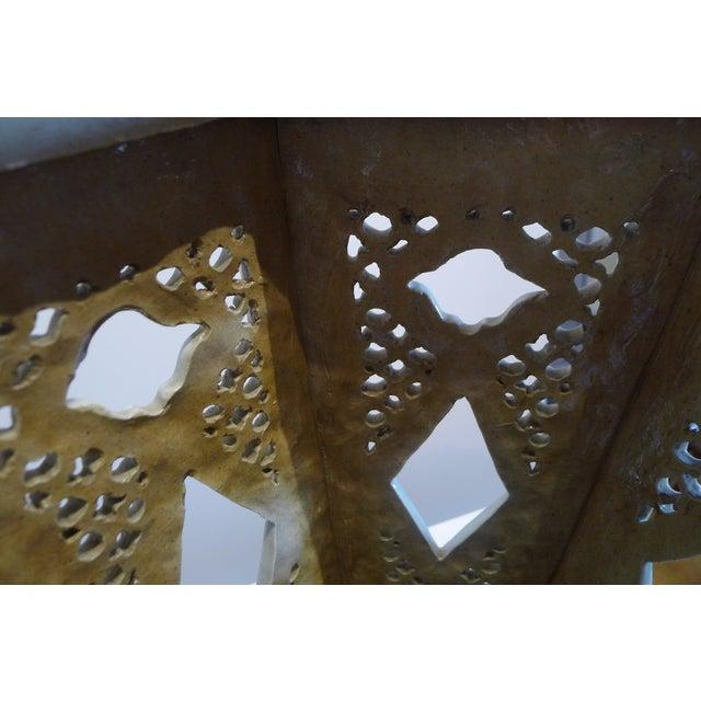 Ceramic Chinese Porcelain Famille Verte Wedding Lantern For Sale - Image 7 of 12