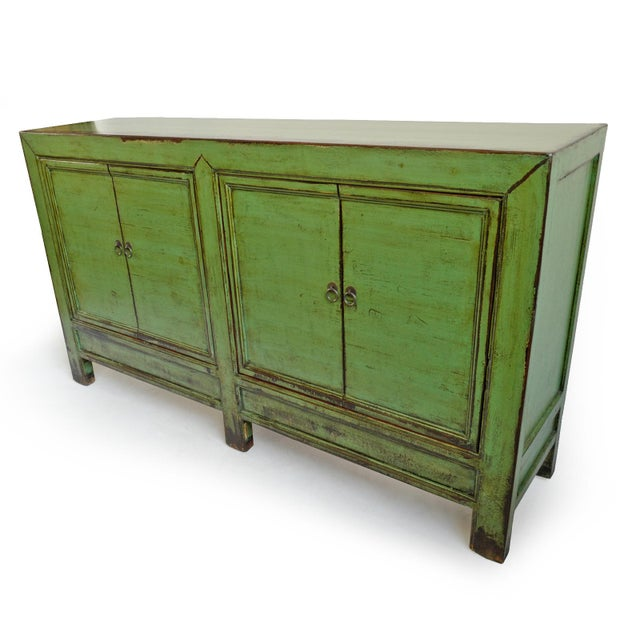 Fern Green Sideboard For Sale - Image 4 of 8