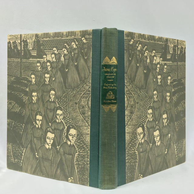 1943 Book With Art, Charlotte Bronte's Jane Eyre - Image 2 of 7