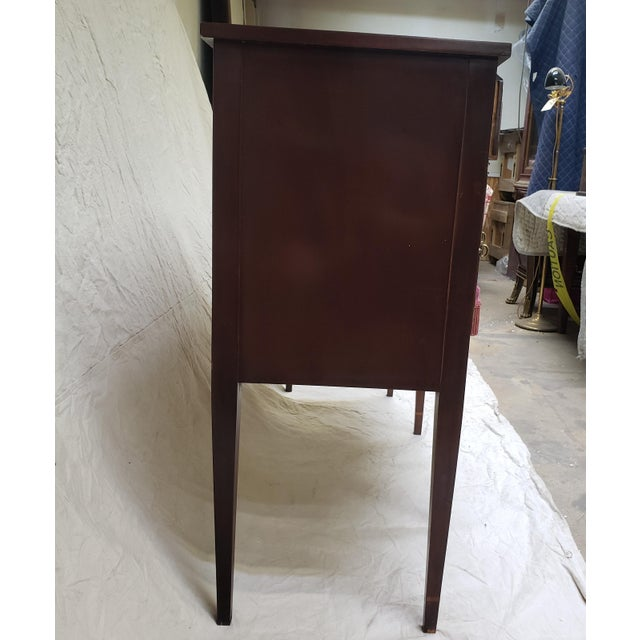 Traditional 1980s Traditional Hickory American Masterpiece Collection Sideboard Server For Sale - Image 3 of 13