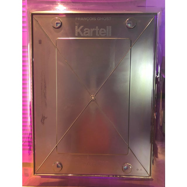 Purple Purple Francois Ghost Mirror by Phillippe Starck for Kartell For Sale - Image 8 of 10