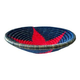 1980s East African Burundi Basket For Sale
