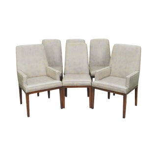 Widdicomb Mid Century Modern Parsons Dining Chairs - Set of 6 For Sale