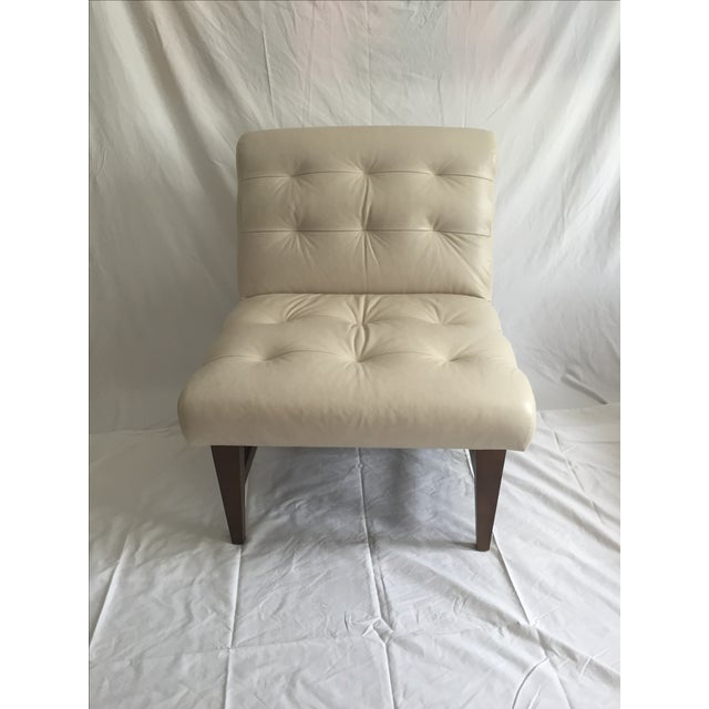 Mitchell Gold & Bob Williams Sergio Leather Chair - Image 2 of 6