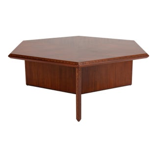 "Frank Lloyd Wright for Heritage-Henredon ""Taliesin"" Coffee Table For Sale"