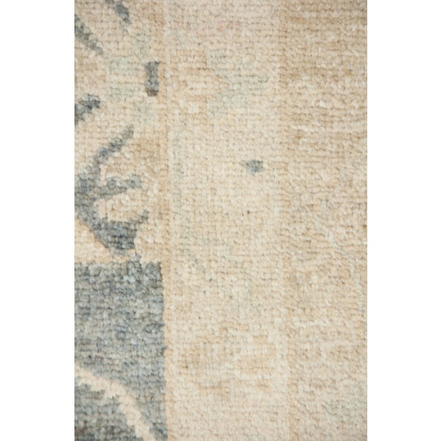"Transitional Oushak Hand Knotted Area Rug - 9'3"" X 12'2"" For Sale - Image 3 of 3"