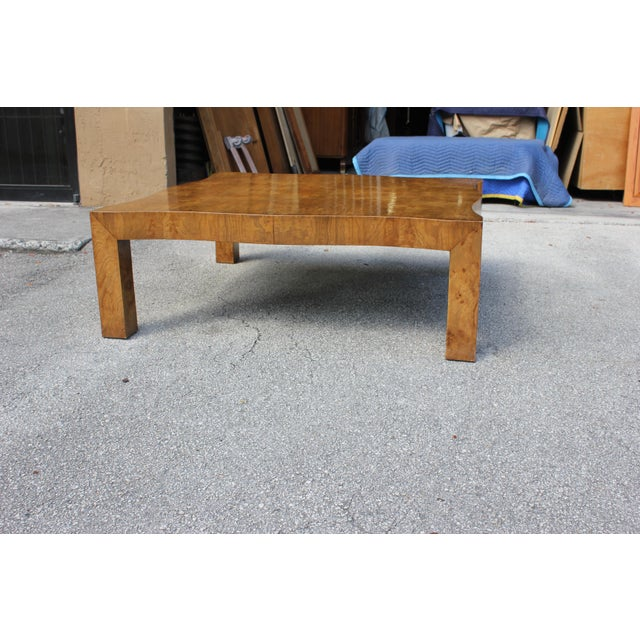 1970s Danish Modern Cherry Wood Coffee Table For Sale In Miami - Image 6 of 13
