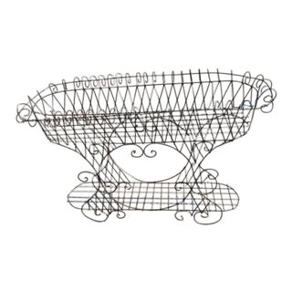 French Wire Plant Stand Antique Last Markdown Firm For Sale
