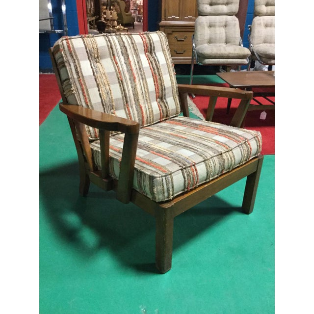 Mid-Century Solid Cherry Side Chair For Sale In New York - Image 6 of 6
