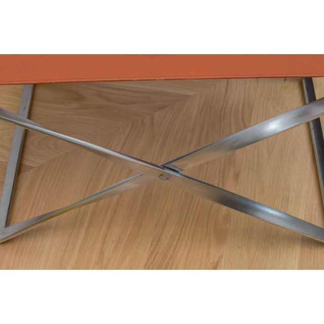 "Poul Kjaerholm ""Pk91"" Folding Stool - Image 3 of 10"