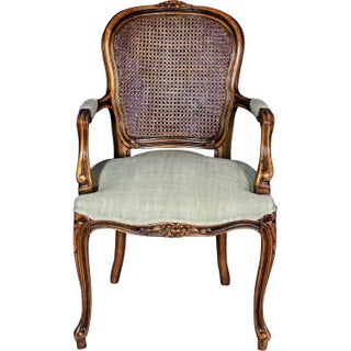 Louis XV French Style Upholstered Bergere Chair Preview
