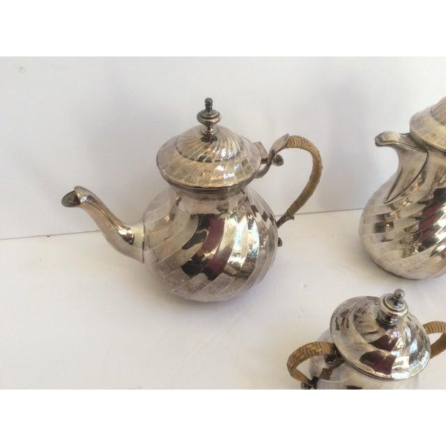 Purity Italian Silver Tea Service - Set of 4 - Image 2 of 11