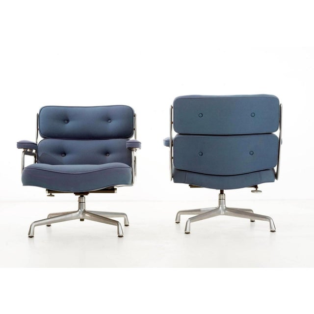 Mid-Century Modern Time Life Lounge Chairs by Charles Eames for Herman Miller For Sale - Image 3 of 9