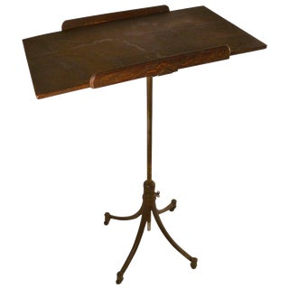 Drafting Table or Maitre D' Stand For Sale