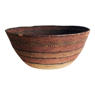Mid-Century Hupa Tribe Native American Basket