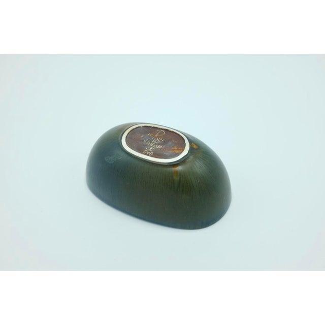 Mid-Century Modern Carl Harry Stålhane Miniature Ceramic Bowl For Sale - Image 3 of 5