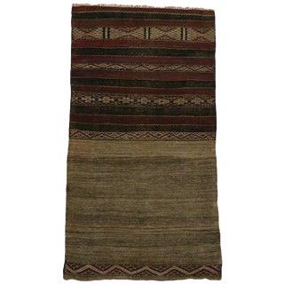20th Century Moroccan Berber Kilim Rug For Sale