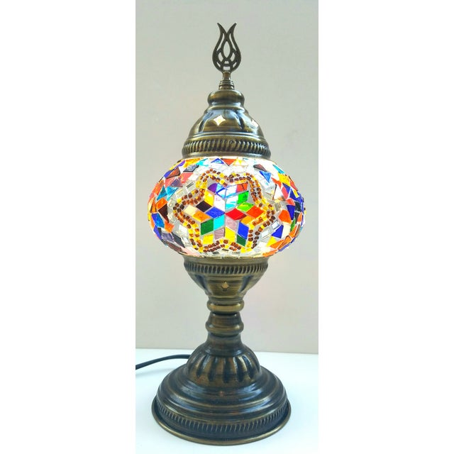 Handmade Mosaic Table Lamp - Image 3 of 5