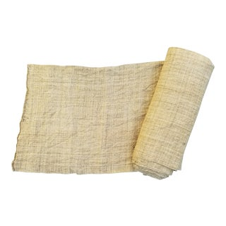 Neutral Roll Organic Hand Spun Tobacco Cloth For Sale