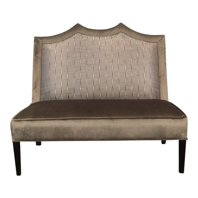 Transitional Custom Made Designer Bench For Sale