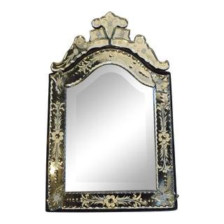 Mid Century Venetian Mirror For Sale