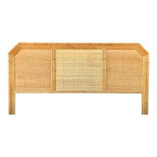 Bamboo/Rattan King Size Headboard For Sale