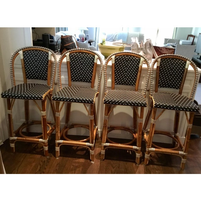 French Tabouret Counter Stools - Set of 4 - Image 2 of 5