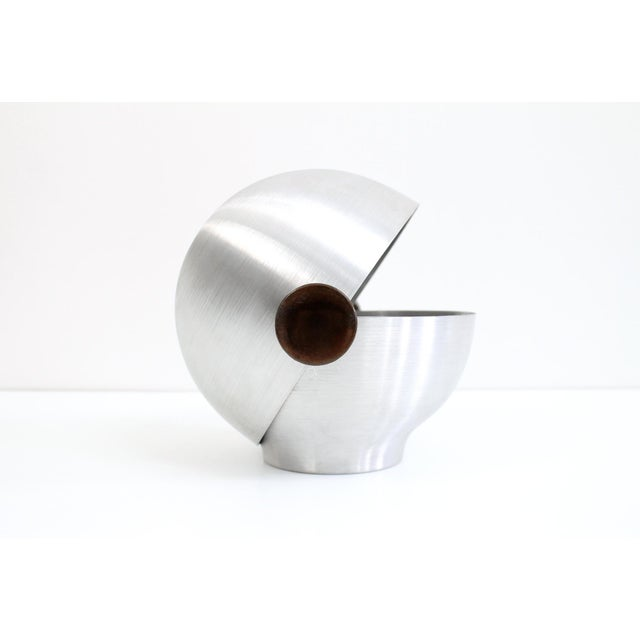 Rare and Early Russel Wright Aluminum Vessel For Sale - Image 11 of 11
