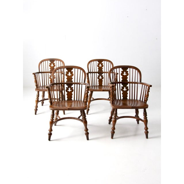 107 Best Images About Period Colonial Room Settings On: Vintage Conant Ball Colonial Revival Dining Chairs