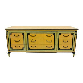 Vintage Painted Credenza Dresser For Sale