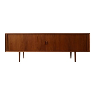Mid Century Danish Teak Credenza by Svend Aage Larsen for Faarup For Sale