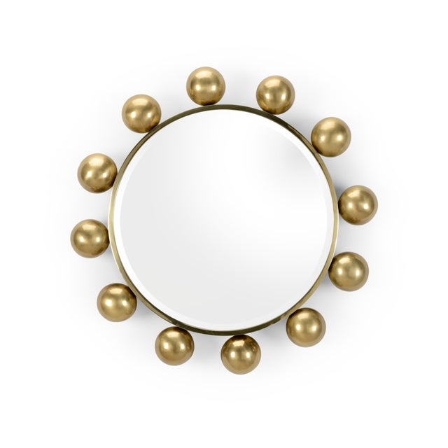 Mid-Century Modern Round-A-Bout Mirror For Sale - Image 3 of 3