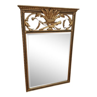Napoleanic Friedman Brothers Gold Leaf Mirror For Sale